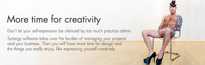 With Synergy project management software, architects and engineers get more time for creativity.