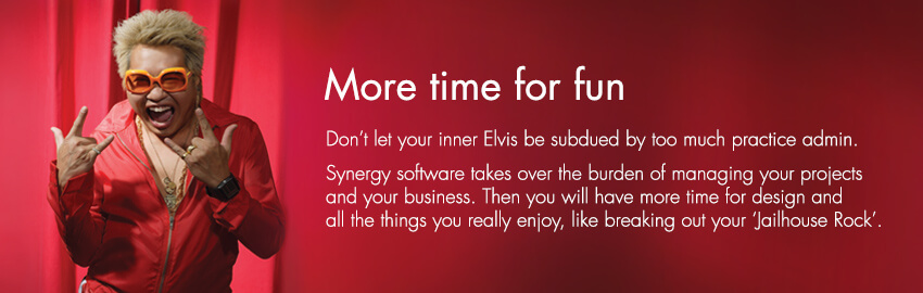 With Synergy project management software, architects and engineers get more time for fun.