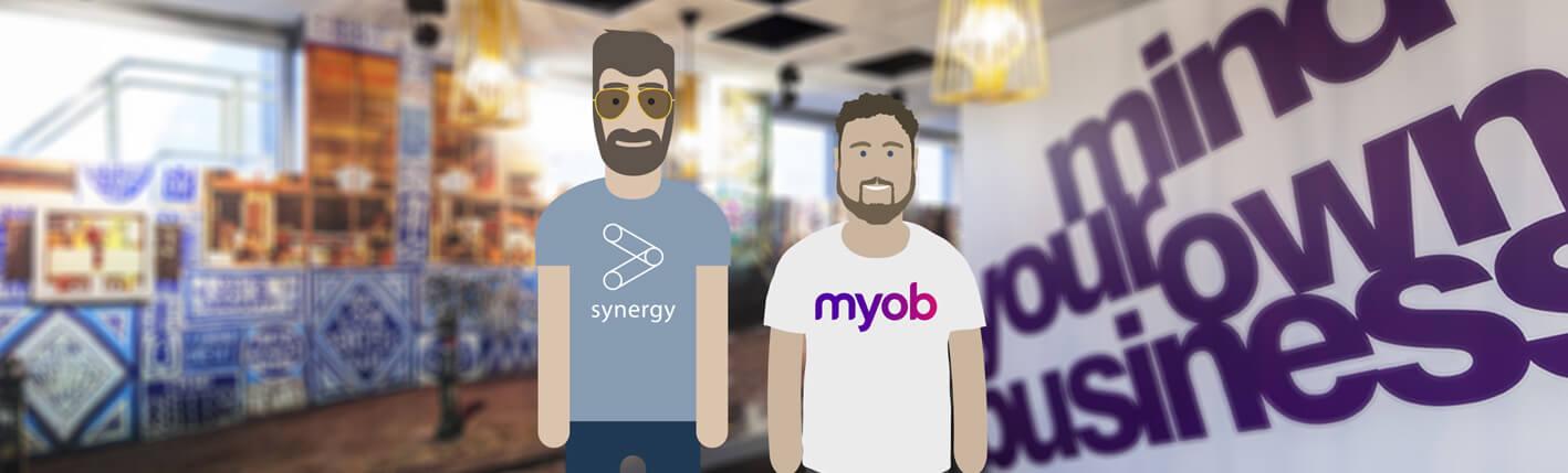 MYOB add-on for Synergy.