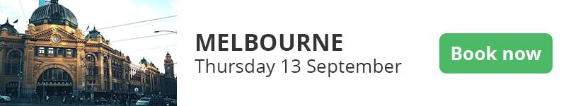 Synergy Cloud Roadshow 2018 — Melbourne.