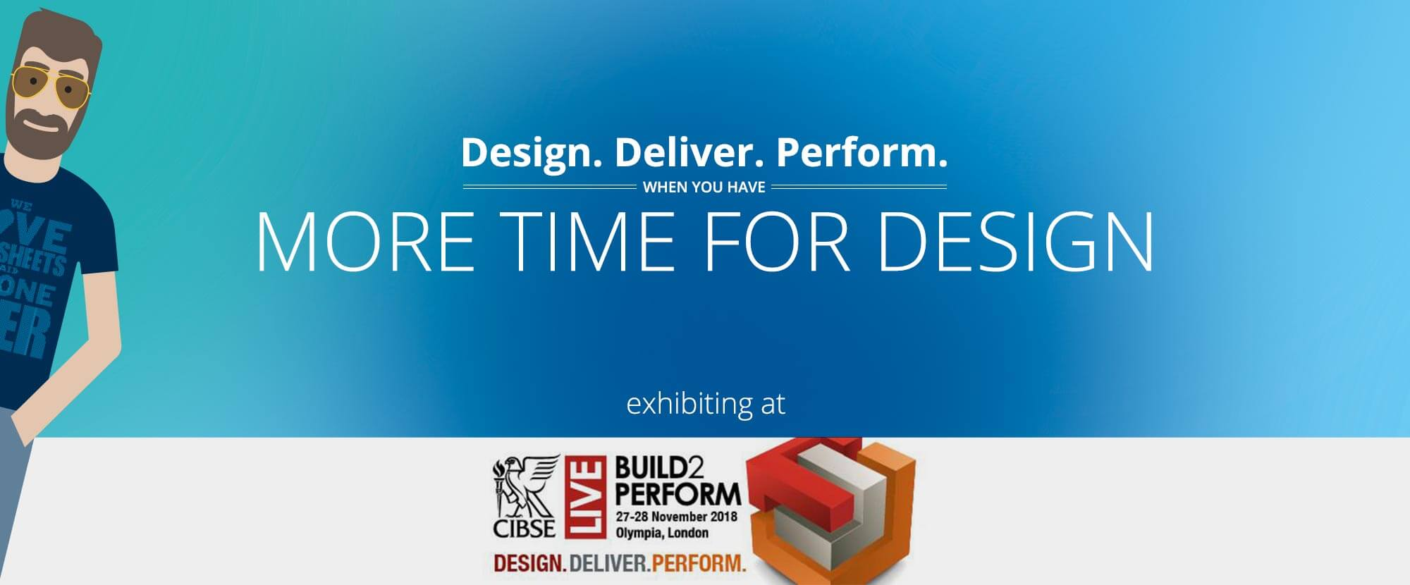 Total Synergy is exhibiting at CIBSE Build2Perform 2018.