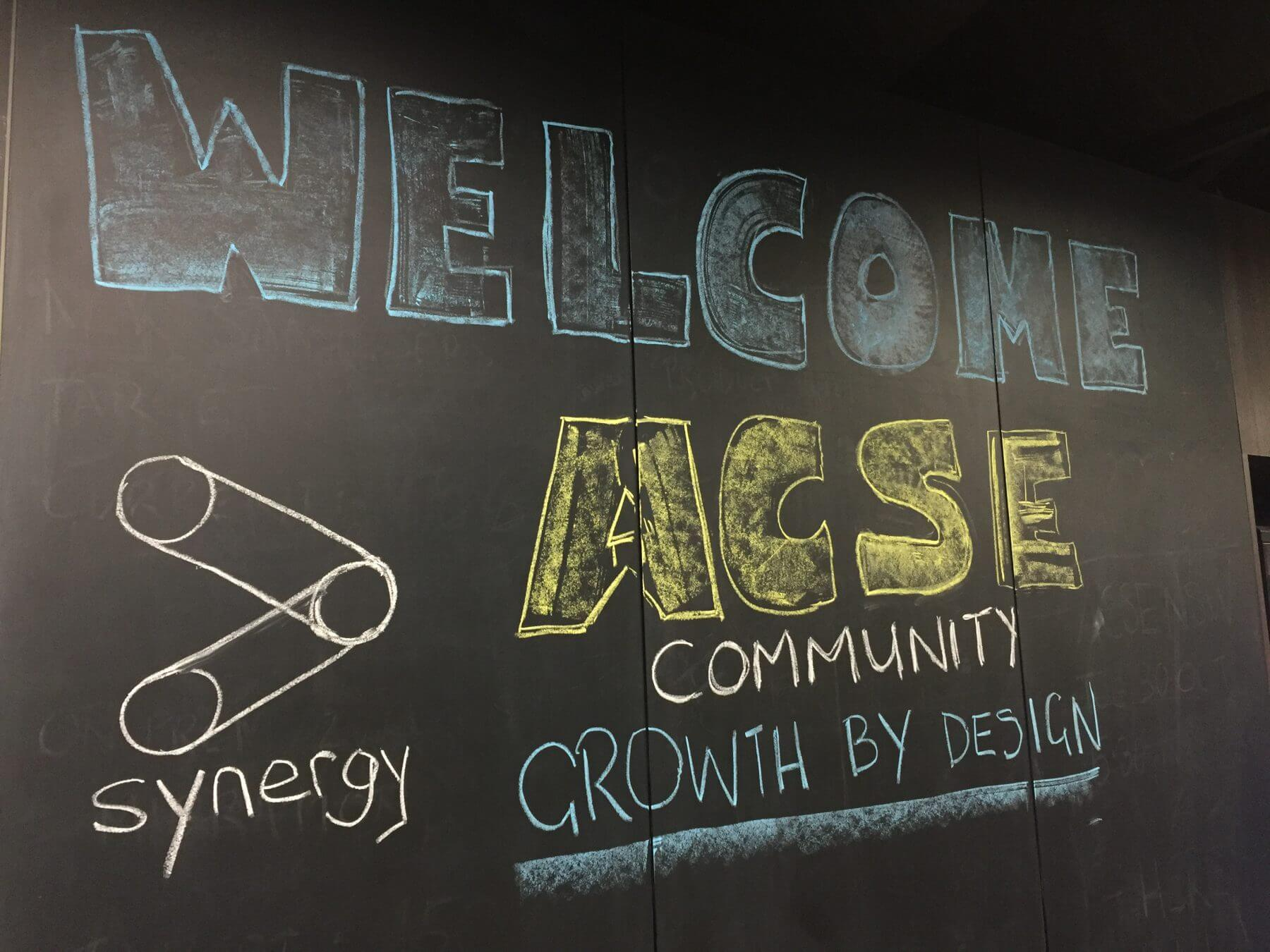 Total Synergy Welcome ACSE community